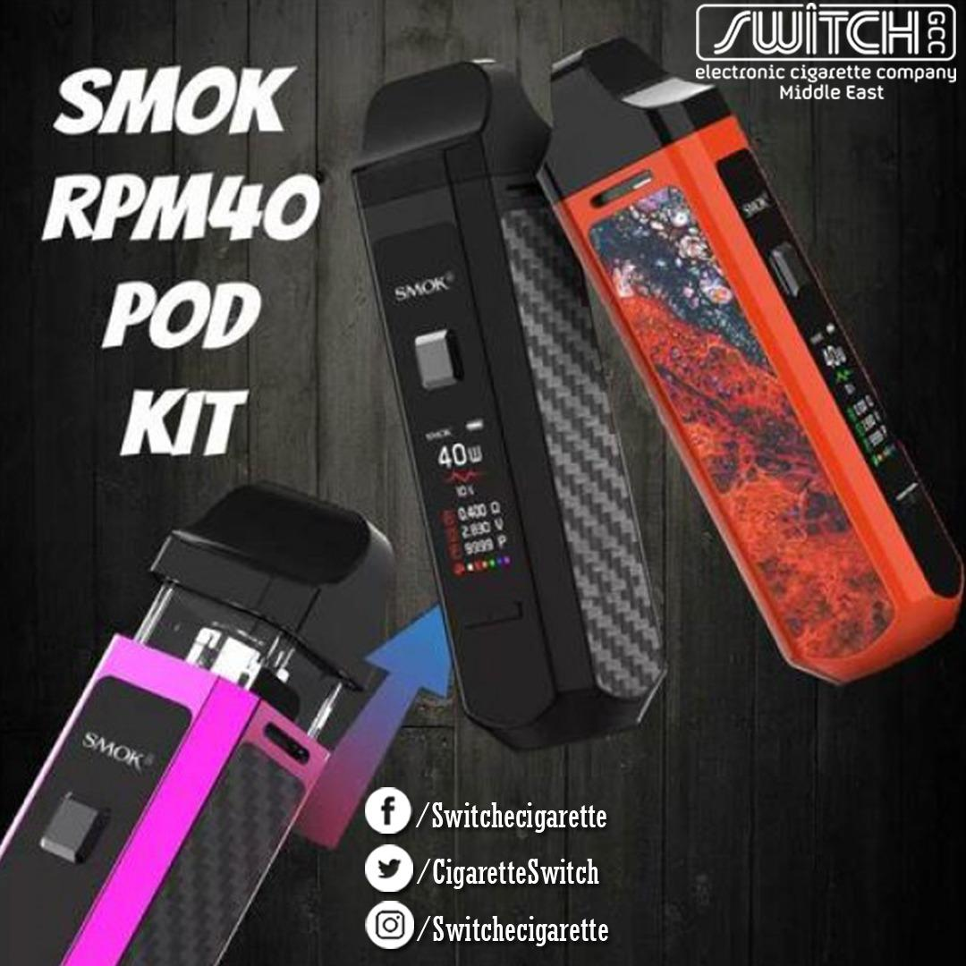 🔞🔞🔞 SMOK RPM40 POD KIT Free Delivery all over bahrain. Smoking is injurious to health. Stop smoking and start vaping. Dial  receiver32095389 for further information. Dial  receiver 36090836 to place your orders. #Vape #eciggrate #bahrain #smoke #switch #vaping #Bahrainstore https://t.co/nzZqpkSUN2