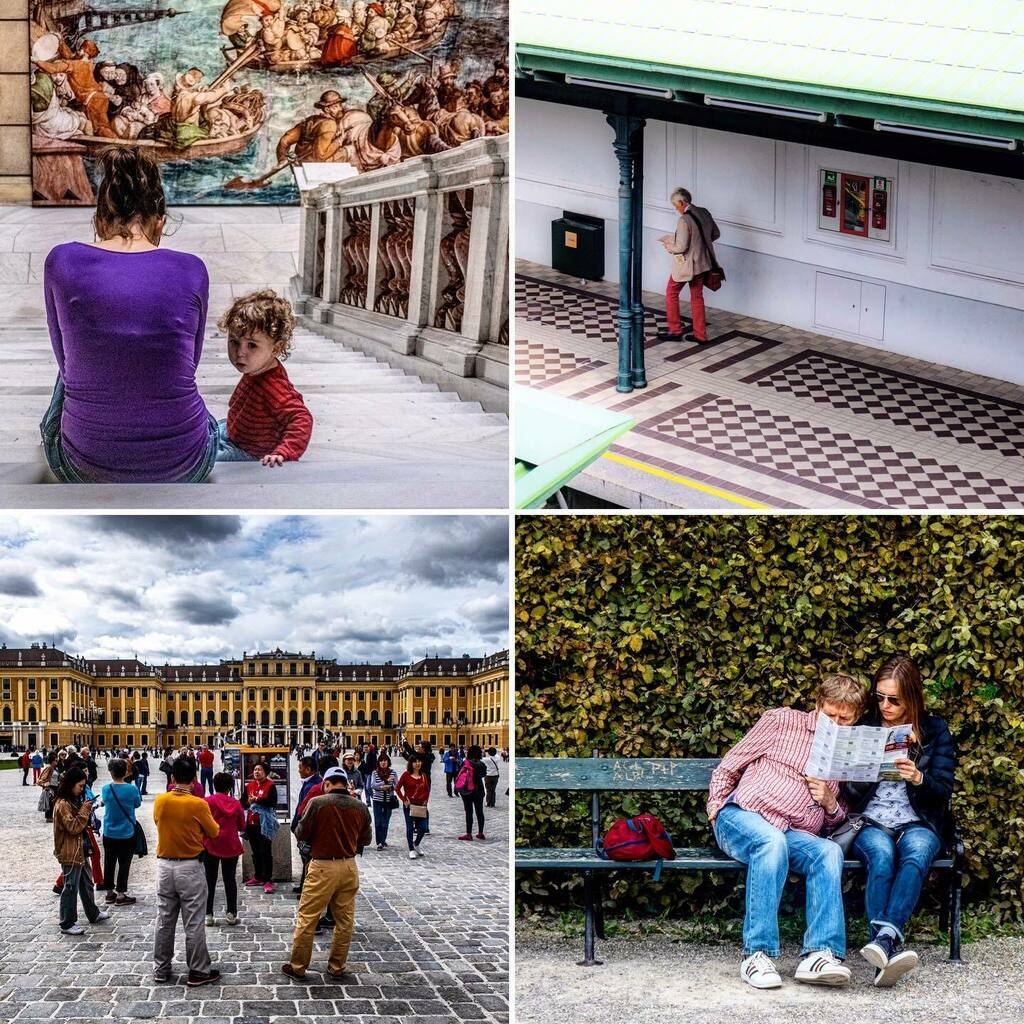 People watching, Vienna: 1) Kunsthistorisches Museum); 2) Hietzing Station; 3) Schönbrunn Palace; 4) outside the Belvedere Palace (25-26/9/19) . . . #belvedere #belvederepalace #belvederemuseum #wien #vienna #austria #tourism #peoplephotography #mapread… https://instagr.am/p/CCIdTSsHJrb/ pic.twitter.com/E5Jw1GPpLh  by Andrew Edwards