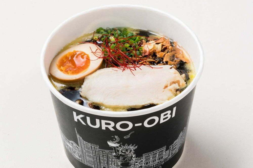 一風堂スピンオフブランド「黒帯(KURO-OBI)」NY発のラーメン日本初上陸、ミヤシタパークに1号店 -