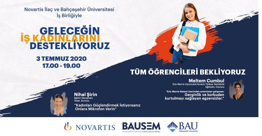 Tüm öğrencileri yarın saat 17.00-19.00 arası gerçekleşecek olan seminere bekliyoruz! Kayıt linki bio'da! https://t.co/bHlCBmRta2