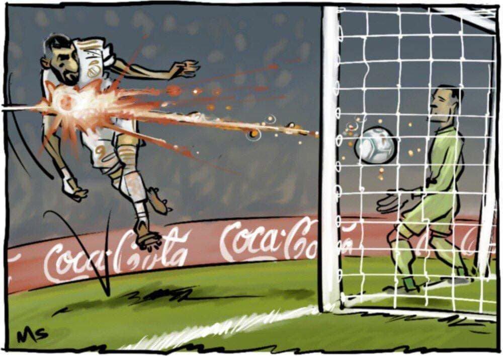 Dia del partido Jour de @Benzema