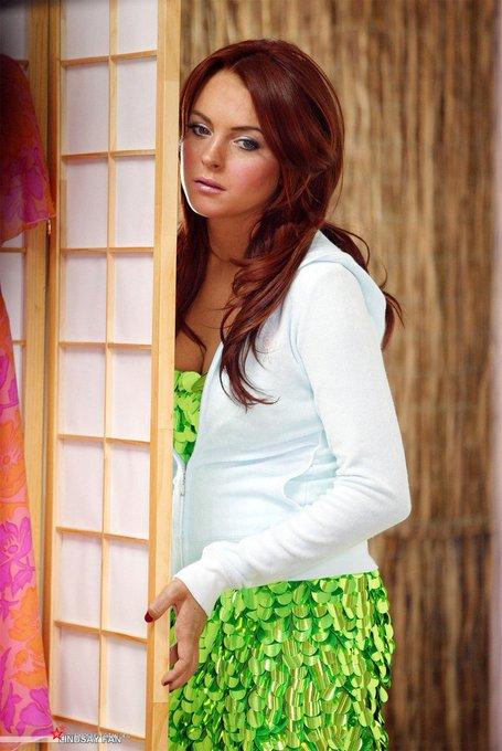 Happy 34th Birthday to beautiful Lindsay Lohan