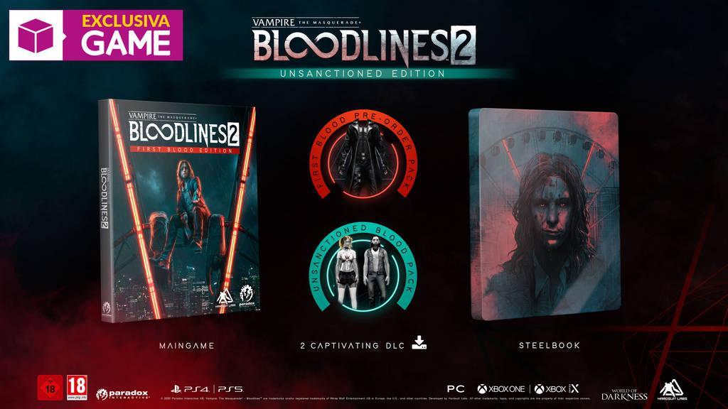Esta edición de #bloodlines2 será exclusiva de #game https://t.co/SwoQDy3uIr
