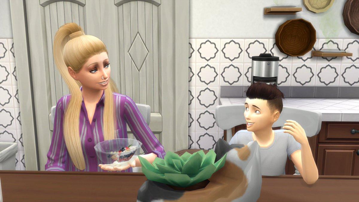 Kurz vor dem Schlafengehen fragte Elaine was ihr Bruder von den ganzen hält: