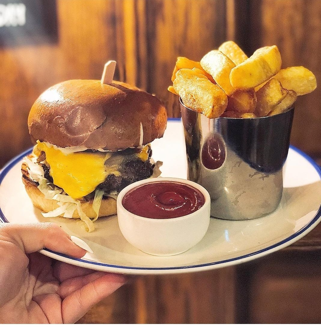 18 days until we reopen!   What are you looking forward to the most when we reopen?   I can't wait for one of our amazing burgers 😍😍 https://t.co/RzgkSjlRdS