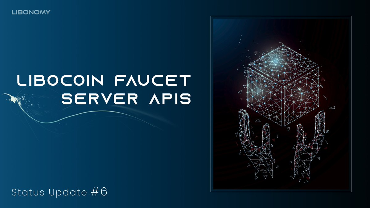 Status Update | Libocoin Faucet Server APIs Date | June 30, 2020  Information | The Faucet manager will help to grant users testnet Libocoins to verify transactions, network explorer and burn their coins  Technical information | https://t.co/dW19wQN89v  #blockchain #Crypto https://t.co/pqiBHOJi4D