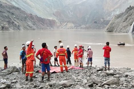 Frana in una miniera di giada in Myanmar: morti 113 minatori (VIDEO) - https://t.co/zRDvdGilJO #blogsicilia #2luglio #birmania #myanmar