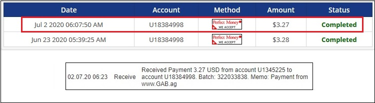New payment of $3.27 received from GAB. They are still paying out for several years now. https://t.co/nRRmQAr0Xn Click on daily ads and earn Dollars on regular basis.  #JakMonitor #GAB #PTC #PerfectMoney #Payeer #ads #profit #money #legit #paying #Dollar https://t.co/scWG6W9wrS