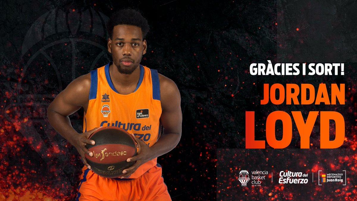 Good luck, @mrjloyd   Cas 👉 Jordan Loyd finaliza su contrato con Valencia Basket https://t.co/qzvhPOFHIm  Val 👉 Jordan Loyd finalitza el seu contracte amb Valencia Basket https://t.co/WVz6s7tWVd  Eng 👉 Jordan Loyd ends his contract with Valencia Basket https://t.co/XwO02hUUsR https://t.co/kyRznge5yE