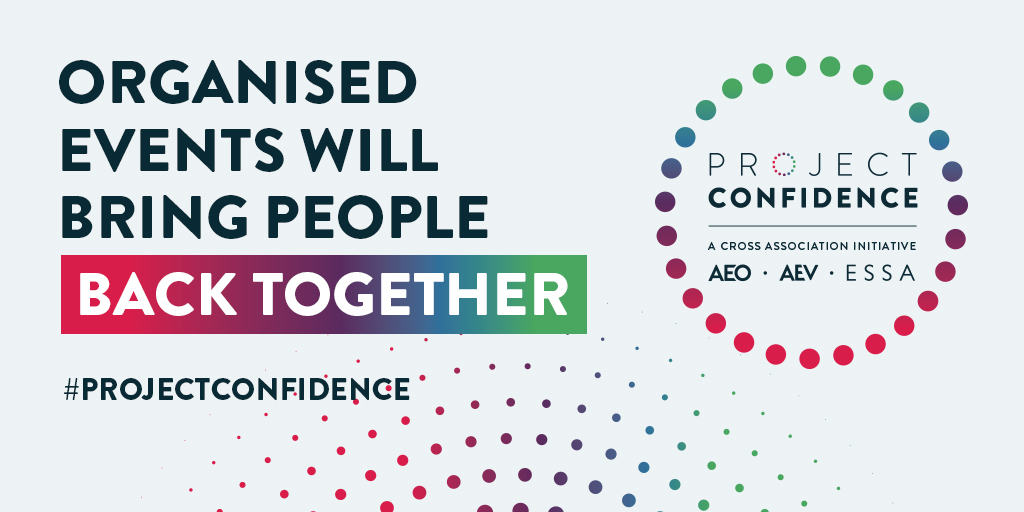 The events industry is the 6th largest sector in the UK.  Each year, 1.3 million events bring people together to learn and make memories 👏🏼  We're collaborating with @AEVnews @AEOnews and @ESSAnews to ensure it is protected and safeguarded for the future.  #ProjectConfidence https://t.co/05JqnRks2j