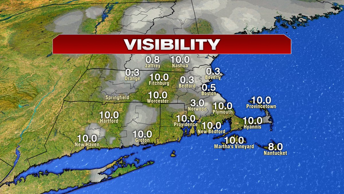 Areas of dense fog this morning.