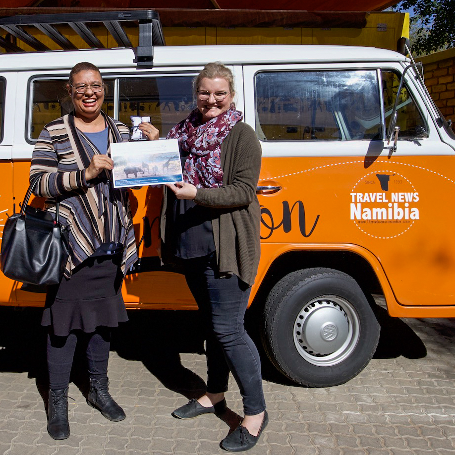 Throwback to our second competition winner, Lelanie, receiving her prize from Journeys Namibia!   https://t.co/cijQpM5nge  #win #competition #namibia #travel #africa #camping #safari #holiday #photography #adventure https://t.co/pBoLmbXavQ