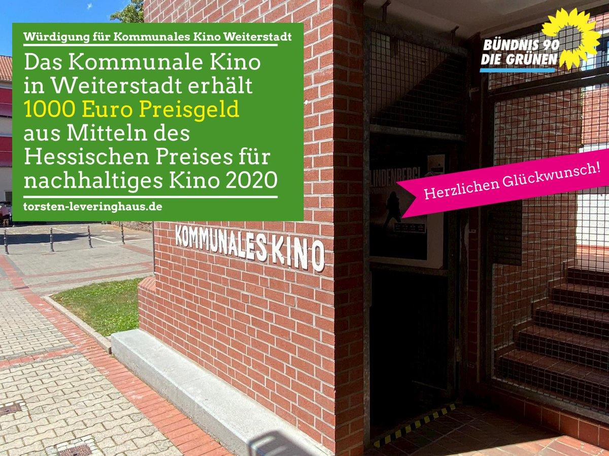 Das Capitol Kino #Witzenhausen erhält den hessischen Preis für nachhaltiges Kino 2020. Aber auch das Kommunale Kino #Weiterstadt erhält für seine jahrelange Arbeit bei gesellschaftliche relevanten Themen, zum Beispiel im #Queer Kontext, eine Würdigung in Höhe von 1.000 Euro.pic.twitter.com/y9uJp0Ibhk  by Torsten Leveringhaus