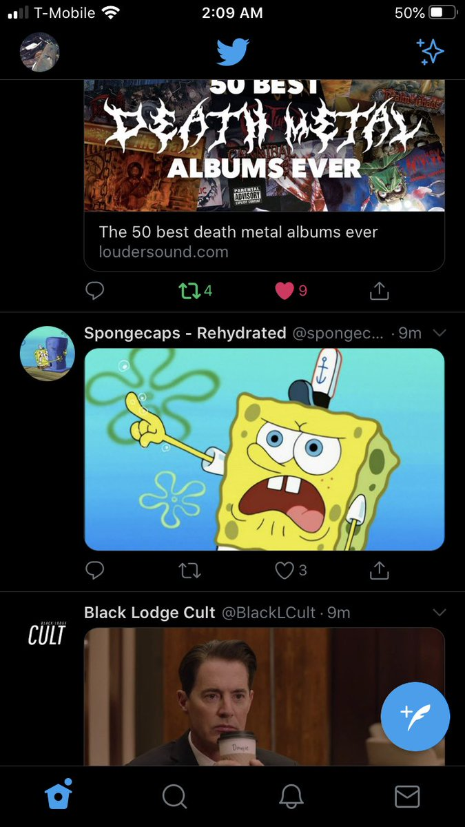 #Deathmetal #spongebob #dalecooper