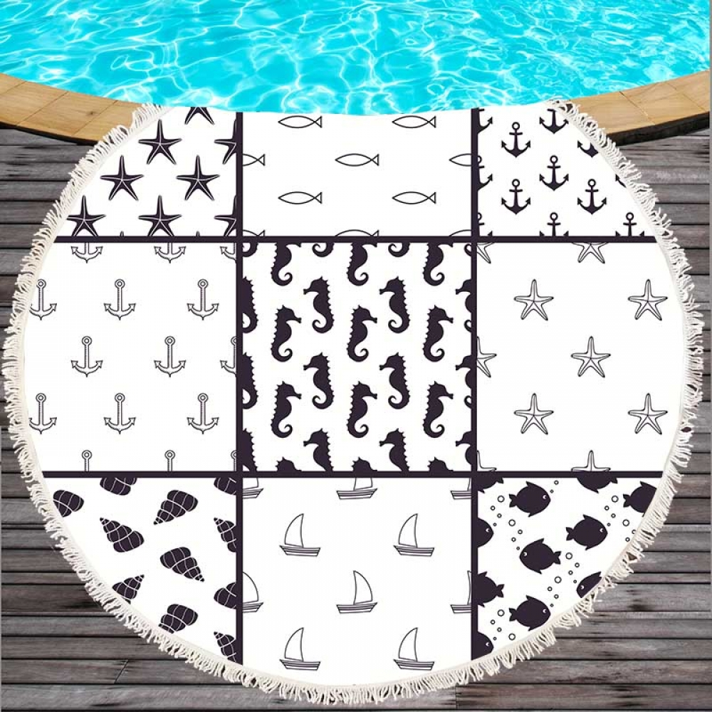 #nature #accessories Patchwork Style Microfiber Beach Towel Tag a friend who would love this! FREE Shipping Worldwide Get it here ---> https://t.co/YStirWt6CX https://t.co/jrtCaf58fH