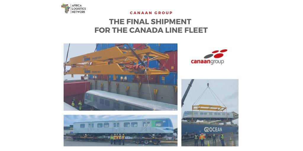 📢 Members News!!!   Congratulations @canaangroupco, #alnmember representing #Canada!👏  MORE: https://t.co/mlfiRTqFLH  ANIMATION!🎥https://t.co/WaFeMmcvvg  #Vancouver #Hyundai #africa #africalogisticsnetwork #aln #logistics #shipment #networking #fleet #traincars #Olympics https://t.co/jMdk0RhxyN