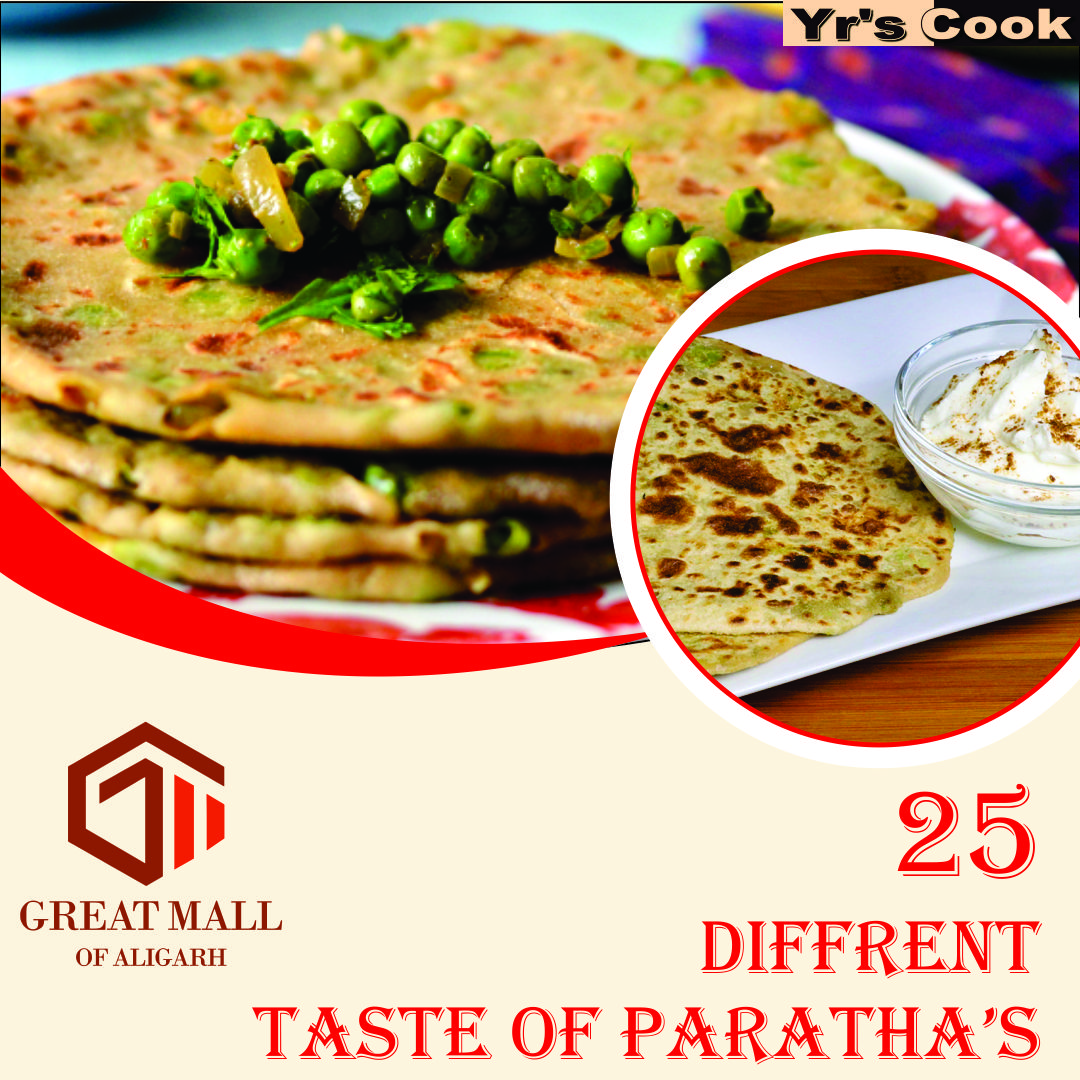 Visit & get the Taste of 25 different Delicious Paratha. Yr's Cook 4th floor Great Mall of Aligarh.  #paratha #food #indianfood #foodie #foodporn #parathas #breakfast #instafood #yourscook #ramghatroad #alooparatha #delicious #foodies #desifood #indianfoodbloggers #healthyfood. https://t.co/yOT02dKX4j