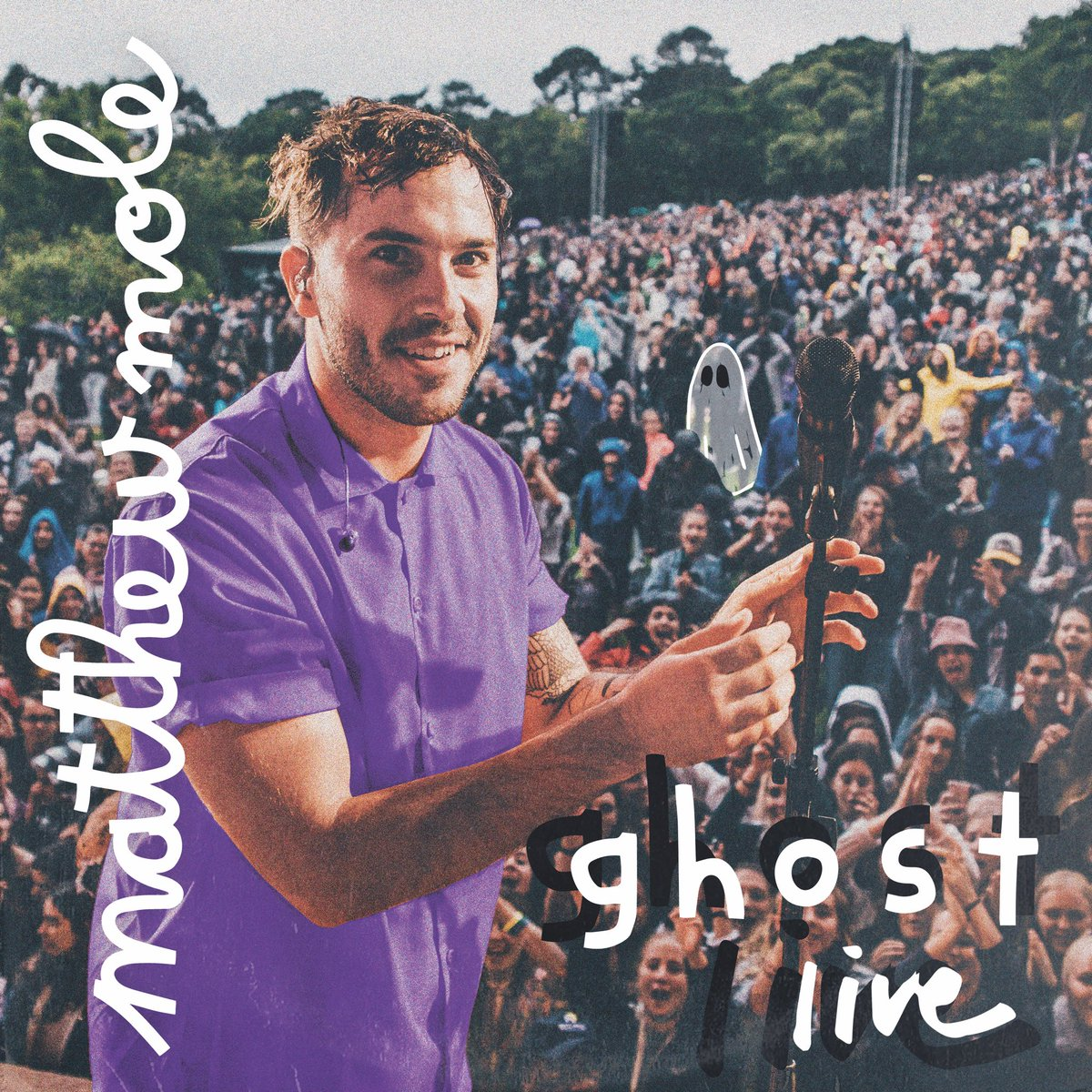Aaaaaand, GHOST LIVE full album is out in exactly one week! 👻💜
