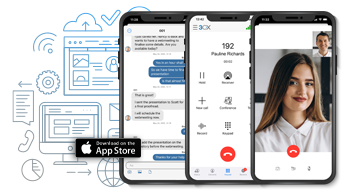 The new @3CX #iOS app  has launched and aside from the new features, we're delighted to hear that the app now switches automatically to the best available WIFI, 3G/4G connection WITHOUT dropping the call! #VoIP #unifiedcommunications  https:// bit.ly/2VEL9P5     <br>http://pic.twitter.com/empiqY27Ox