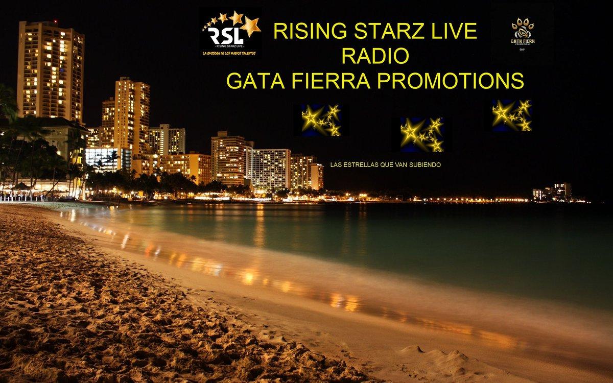 Nueva Temporada de RSL Radio y Gata Fierra Promotions #Gatafierrapromotions #risingstarzliveradio #solismediagrouppr #Argentina #Colombia #Venezuela #Peru #CostaRica #Ecuador #RepublicaDominicana #PuertoRico #UnitedStates #Cuba #Chile #Mexico #Panama #Brasil #Espana #Paraguaypic.twitter.com/BMTio9LMNt