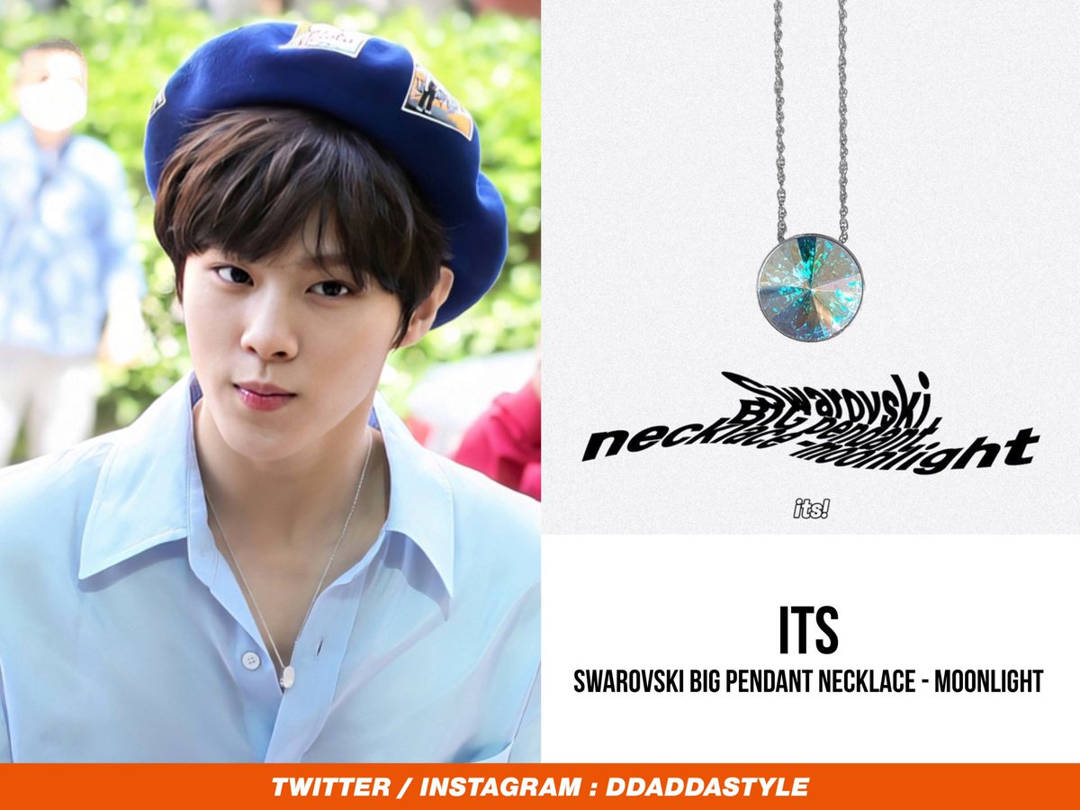 #DDADDASTYLE  200519  Brand: ITS (잇츠) Product Name: Swarovski Big Pendant Necklace - Moonlight  ©파이낸셜뉴스  #KIMWOOSEOK #김우석 @KWS_official_ https://t.co/54fHocrtR8