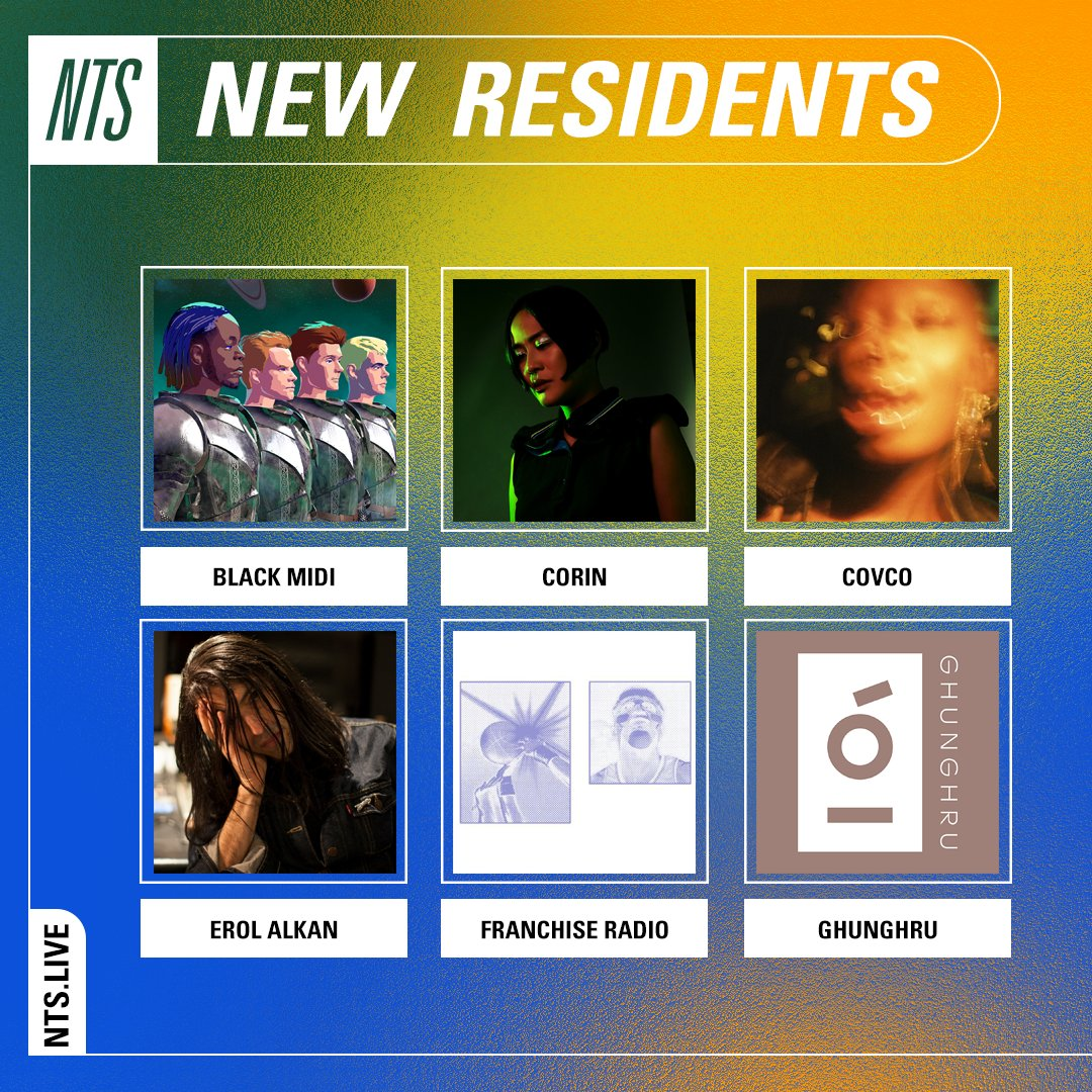 New @NTSlive residents Black Midi next show is this Tuesday 7th July at 3pm BST / 10am EST nts.live