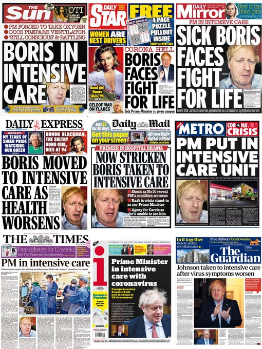 @sarahpegg9 @derekjames150 Remember how a nation was supposed to #PrayForBoris ?  How does #BorisJohnson think children will cope emotionally with the knowledge that they might have done this to their own family? #extendthelockdown https://t.co/U2Jv9Vmh7B