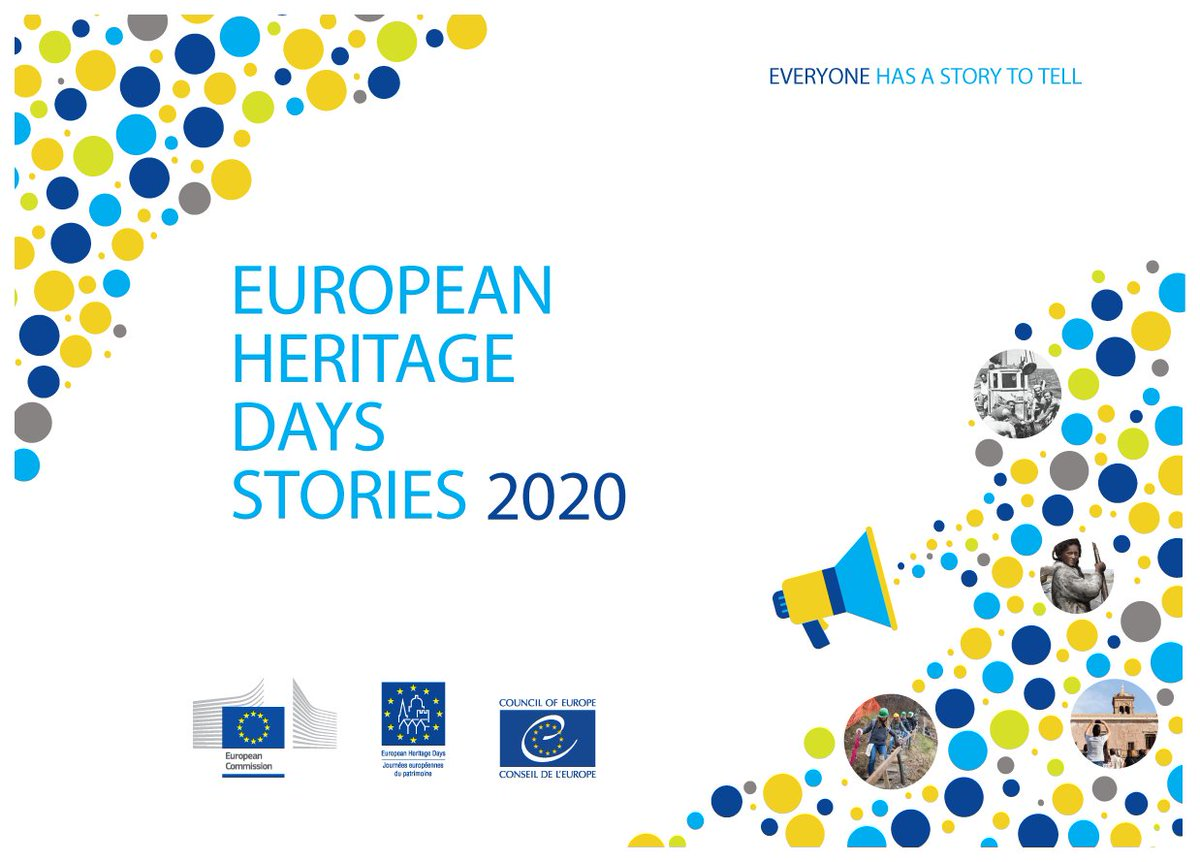 🥳 We have the winners! #EuropeanHeritageDays are happy to present you the eleven stories that were selected for a grant award in 2020 https://t.co/vWkVD5esBE  #EuropeForCulture #culturalheritage https://t.co/brUfnm4DuM