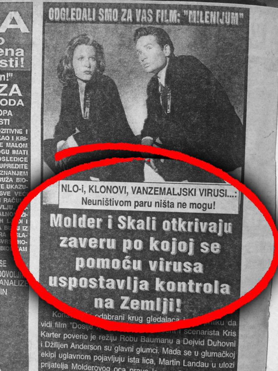 Molder i Skali: Virus uspostavlja kontrolu na zemlji