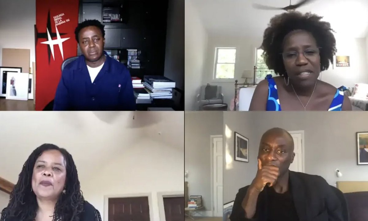 2/2 Chaired by writer & broadcaster Ekow Eshun, the panel includes theorist & Professor at Brown University, Tina Campt & author, literary scholar & Professor at Columbia University, Saidiya Hartman. Find out more about the panellists here: https://t.co/78vhHdeNiH https://t.co/C5EJ7DqOaP