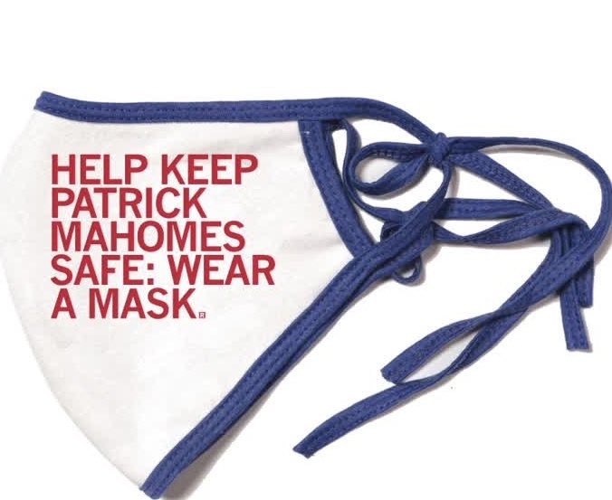 Kansas City is stepping up and calling for everyone to wear a mask to keep Patrick Mahomes safe!   What athlete in your city needs to be protected? https://t.co/mNDeUnU3Nq