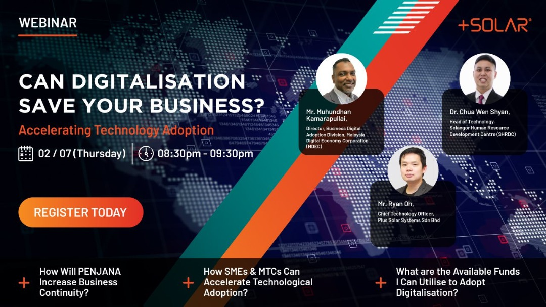 The world economy has dived into recession mode. We are witnessing various industries taking a huge dip. One thing from the #COVID19 situation became clear: the importance of #digitaladoption.   Join this webinar tonight at 8.30PM at https://t.co/vMr9fV3HhD  #DigitalLeap https://t.co/KiVrKOoHNG