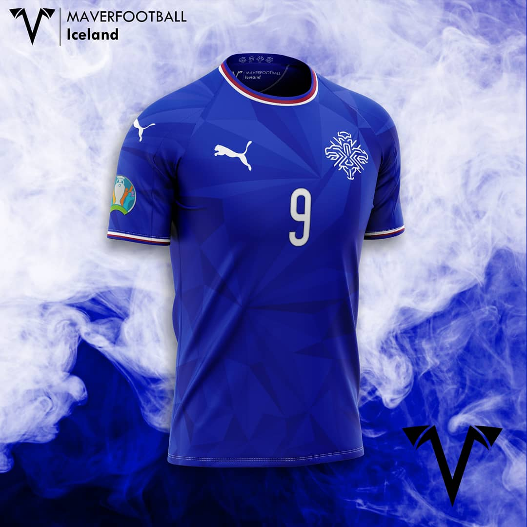 @footballiceland revealed the new Logo. What about it on my new #concept?  #iceland #ksi #icelandfootball #puma #pumafootball #euro #crest #football #euro2021 #goal #kitdesign #footballkit #footballkits #footballshorts #conceptkit #futbol #futebol #soccer #reykjavik https://t.co/rcow1jWwcS