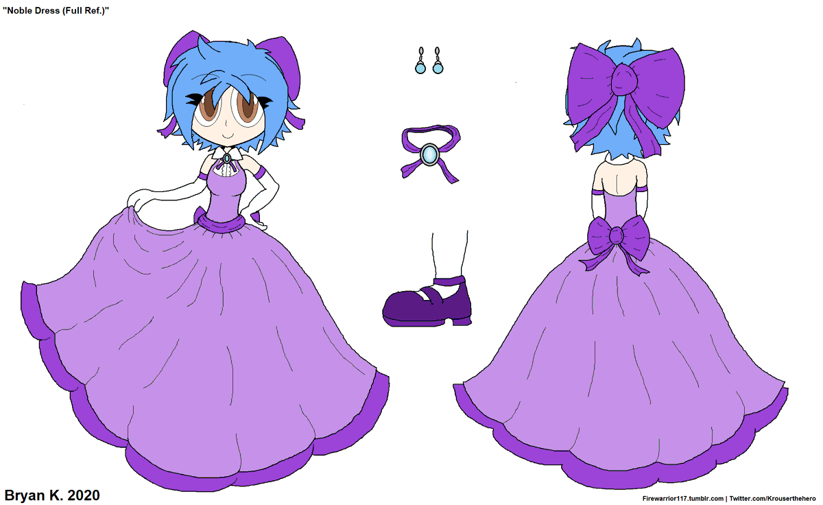 I made a full ref for the dress because I just really like how it turned out! It suits her!  #myart #mycharacters #Merlinapic.twitter.com/jzSG9b8xeJ