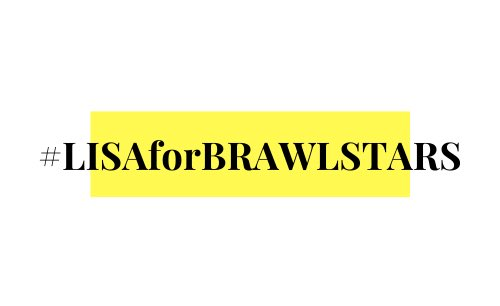 [] Since there's information about new @BLACKPINK's LISA content from Brawl Stars that will be dropped  tomorrow, we will be trending #.LISAforBRAWLSTARS at that time, be ready anytime!  #LALISA #LISA  #리사  #블랙핑크 <br>http://pic.twitter.com/hhLU5Hckkz