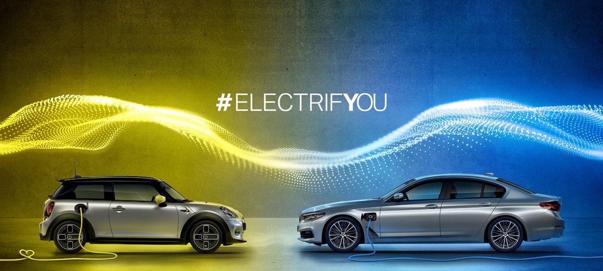 Hybride Rechargeable ou 100% électrique ? ⚡️ Il est temps de vous faire votre propre avis : venez essayer les modèles de la gamme électrifiée BMW & MINI en concession. Contactez-nous dès maintenant pour réserver votre essai : 0800 800 416 (appel et service gratuit). #ElectrifYou https://t.co/bUYSsico5p