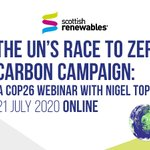 Image for the Tweet beginning: Our one-off COP26 webinar on