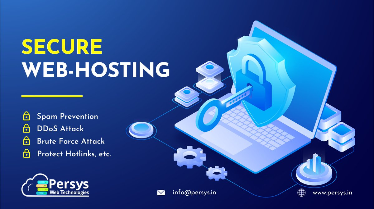 🛡 Your Sites Deserves Secure Hosting 🛡 🚀 Hosting that provides 🚀 ✅ Website monitoring ✅ Malware detection ✅ Attack protection ✅ Two-factor authentication, and ✅ Integration with security add-ons. 🌐 https://t.co/msiRAkliU8 #webhosting #hosting #website #Nashik https://t.co/sd30BPKZrO