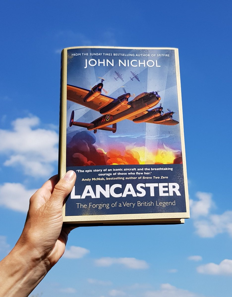 I'm really looking forward to chatting with @JohnNicholRAF on my @BBCEssex show at 2:40 today. His latest book is all about the Lancaster and the extraordinary stories in and around it. https://t.co/l3dO7FjsnH