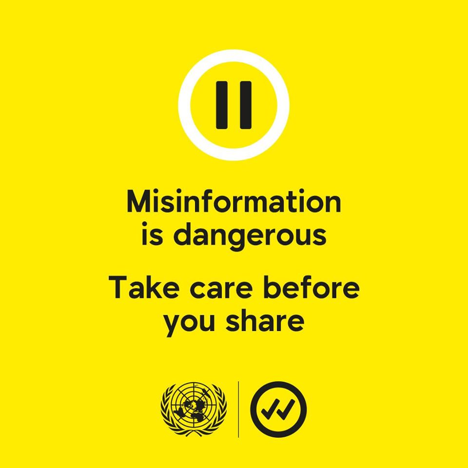 Before You share that information... Pause. Take care before you share....  Together, we can fight misinformation.  #TakeCareBeforeYouShare #StarTimesCares https://t.co/U2xQUUiCak