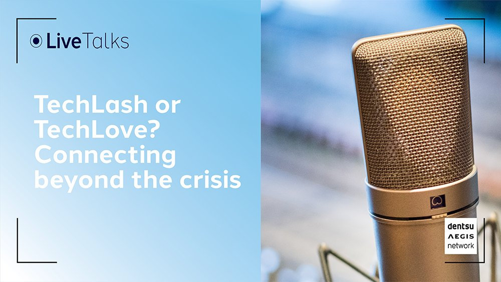 ICYMI: What impact has the COVID-19 crisis had on the way we use technology and what are the implications for brands? Join Tim Cooper and Sanjay Nazerali to learn more about our new report, based on a global survey of 32,000 people across 22 markets: fal.cn/38W8P
