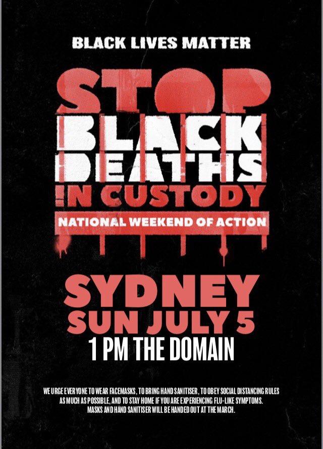 #StopBlackDeathsInCustody Photo