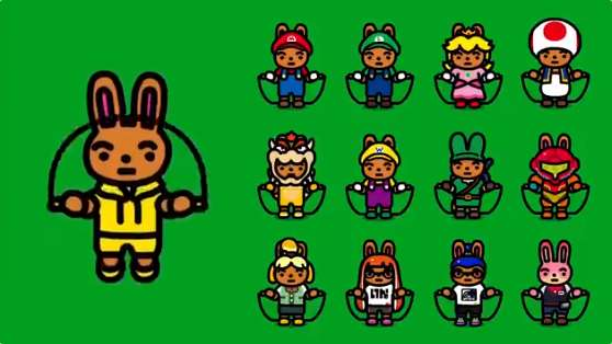 These new costumes for the free Switch game Jump Rope are just adorable trib.al/wN92hY7