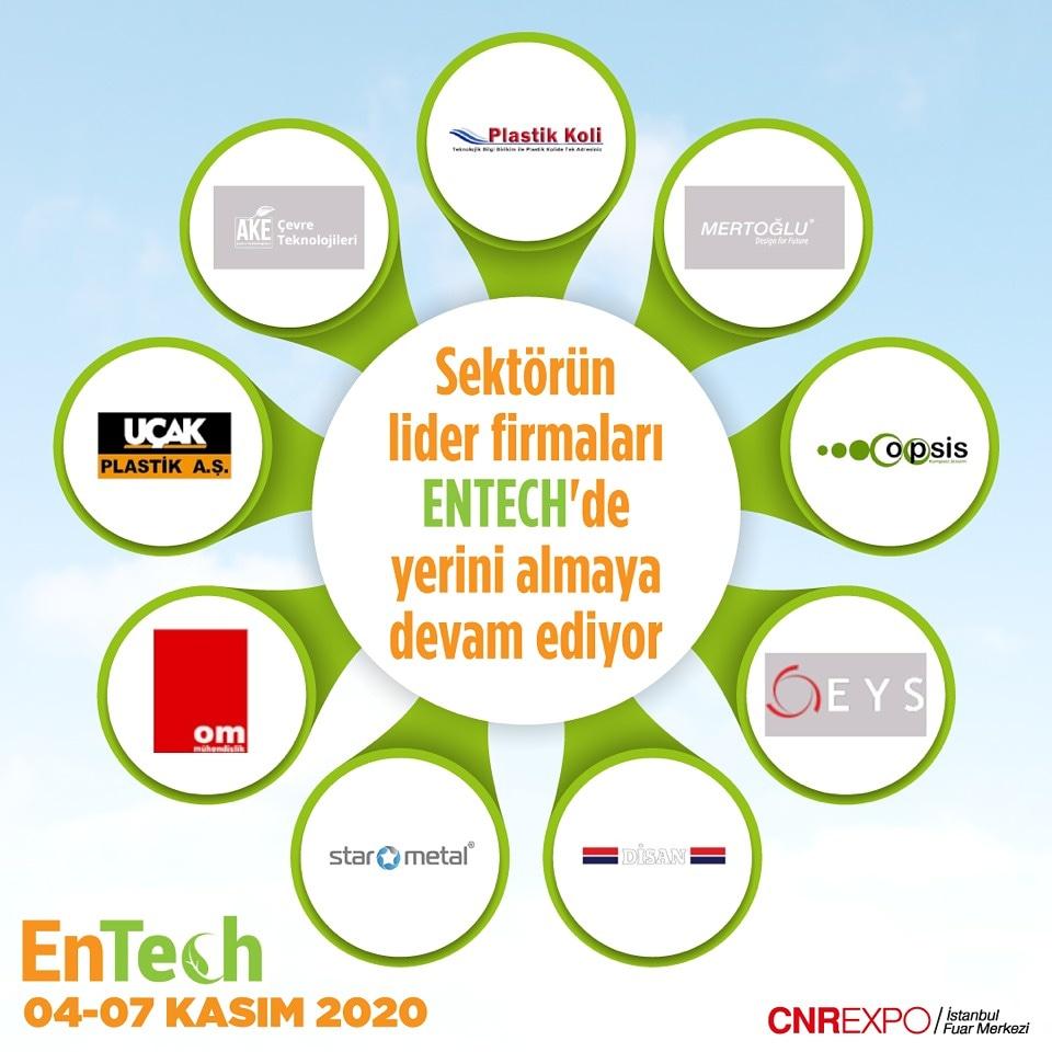 Sektörün lider firmaları ENTECH' de yerini almaya devam ediyor! https://t.co/OQGPdyDRcE