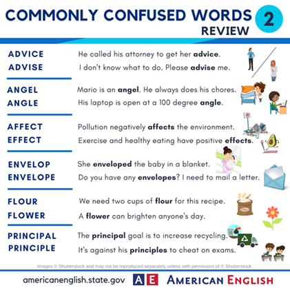 Here is a review of a group of #CommonlyConfusedWords. Which of these are easiest for you to remember? https://t.co/e8gCBuXGwi