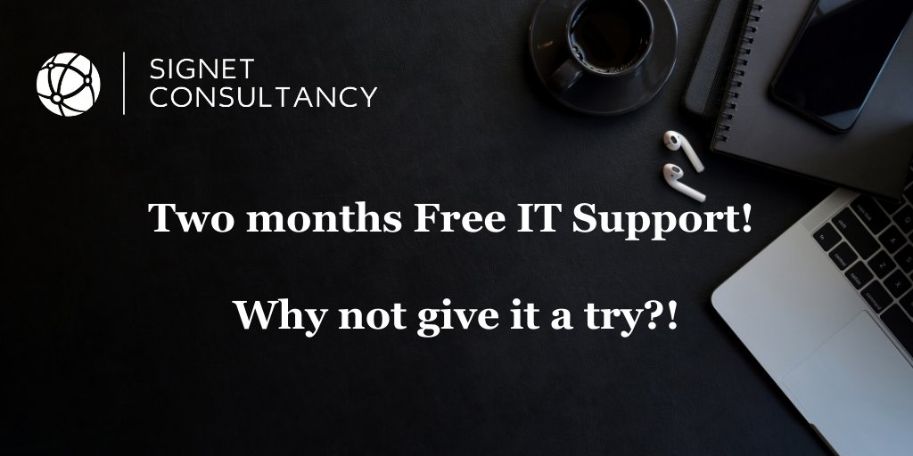 Taking care of your company's #IT is like maintaining a car. If you don't maintain your systems, you run the risk of everything grinding to a halt & losing ur #data. Get in touch with us today for #Desktop #Network & #Server support free for 2 months. 👀https://t.co/lgP5z7Ieel👀 https://t.co/ZD1iwbDoRc