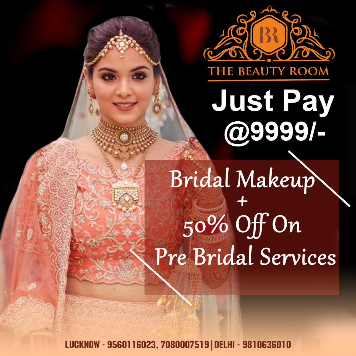 We make your dream to be the best bridal come true.  : : Bookings Open : Lucknow - 9560116023, 7080007519 Delhi - 9810636010 : : #bridalhair #wedding #weddingmakeup #makeup #salonservices #minimalistic #makeup #hair #nails #beauty #bestmakeupartist #india #beautybloggerpic.twitter.com/UpbBxdDzfa