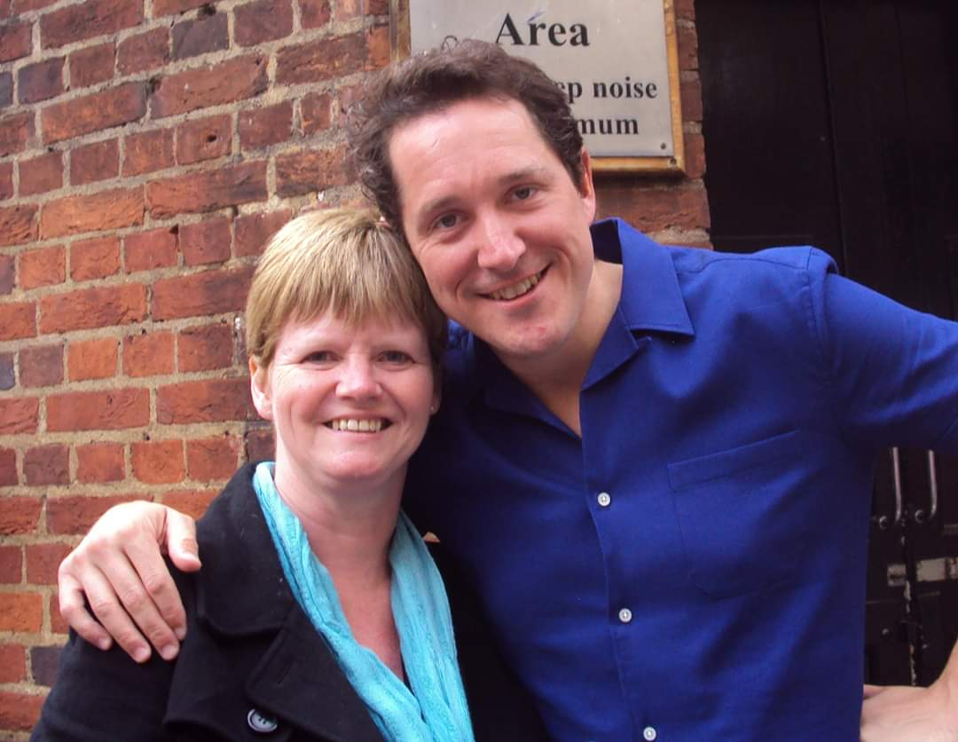 @bertiecarvel you and me 8 years ago outside the Cambridge 😭 #takemeback