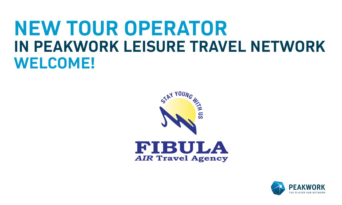 Major Eastern European tour operator, Fibula, uses the current market situation to relaunch its tour operator system on Peakwork technology. https://t.co/gwP9uQay8Q https://t.co/uzF95giKJv