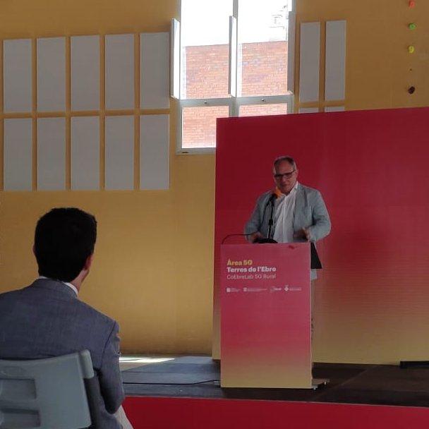 """🗣 @EduardMartinLi:  """"Volem que la 5G contribueixi a la creació d'una indústria que generi desenvolupament al territori""""  #5G https://t.co/wjdboKLhl9"""